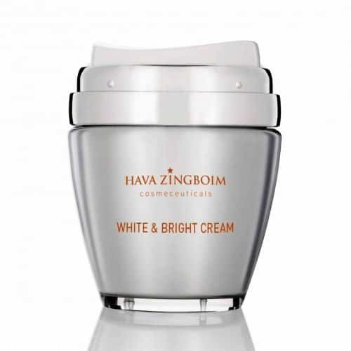 קרם WHITE & BRIGHT חוה זינגובים